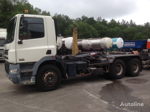 camion ampliroll DAF CF85.380 6X4 HOOK SYSTEM