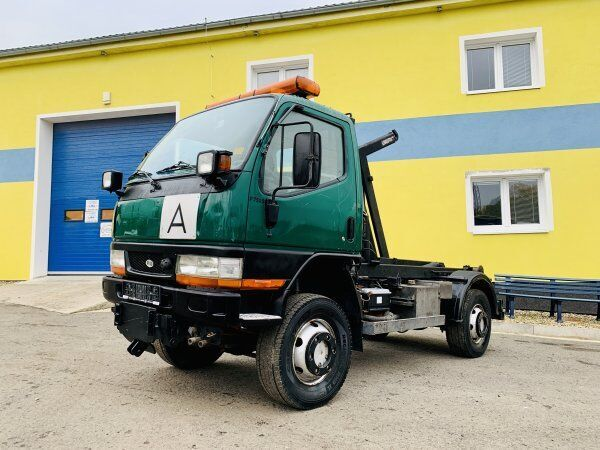 camion ampliroll Mitsubishi Fuso 4x4 PFAU Rexter 7500 +Maytec