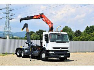 camion ampliroll RENAULT Kerax 370