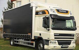 camion bâché DAF CF 65.300 * FIRANKA * DACH PODNOSZONY * SUPER STAN!