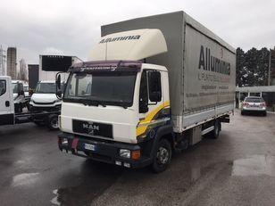 camion bâché MAN 11.224 new motor