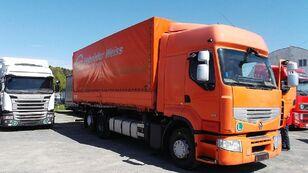 camion bâché RENAULT PREMIUM 460