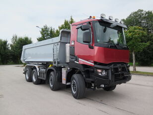 camion-benne RENAULT K480 PROTECT, 8x4