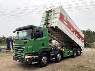 camion-benne SCANIA G 420 8x2 wywrotka do paszy zboża Sprowadzona ze Szwajcarii