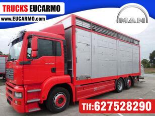 camion bétaillère MAN TGA 26 350