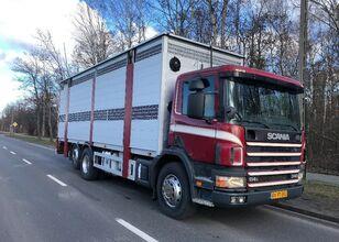 camion bétaillère SCANIA 340