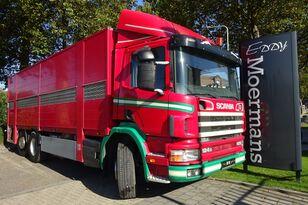 camion bétaillère SCANIA P 124G 420 6x2*4