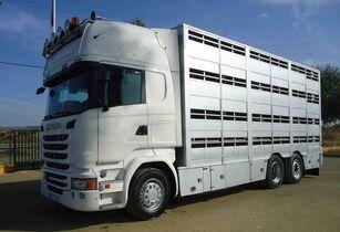 camion bétaillère SCANIA R 490