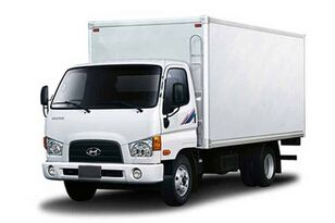 camion fourgon HYUNDAI HD78 промтоварный фургон neuf