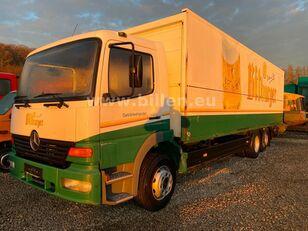 camion fourgon MERCEDES-BENZ 2523 6x2  Lenkachse Schwenkwand Schaltgetriebe