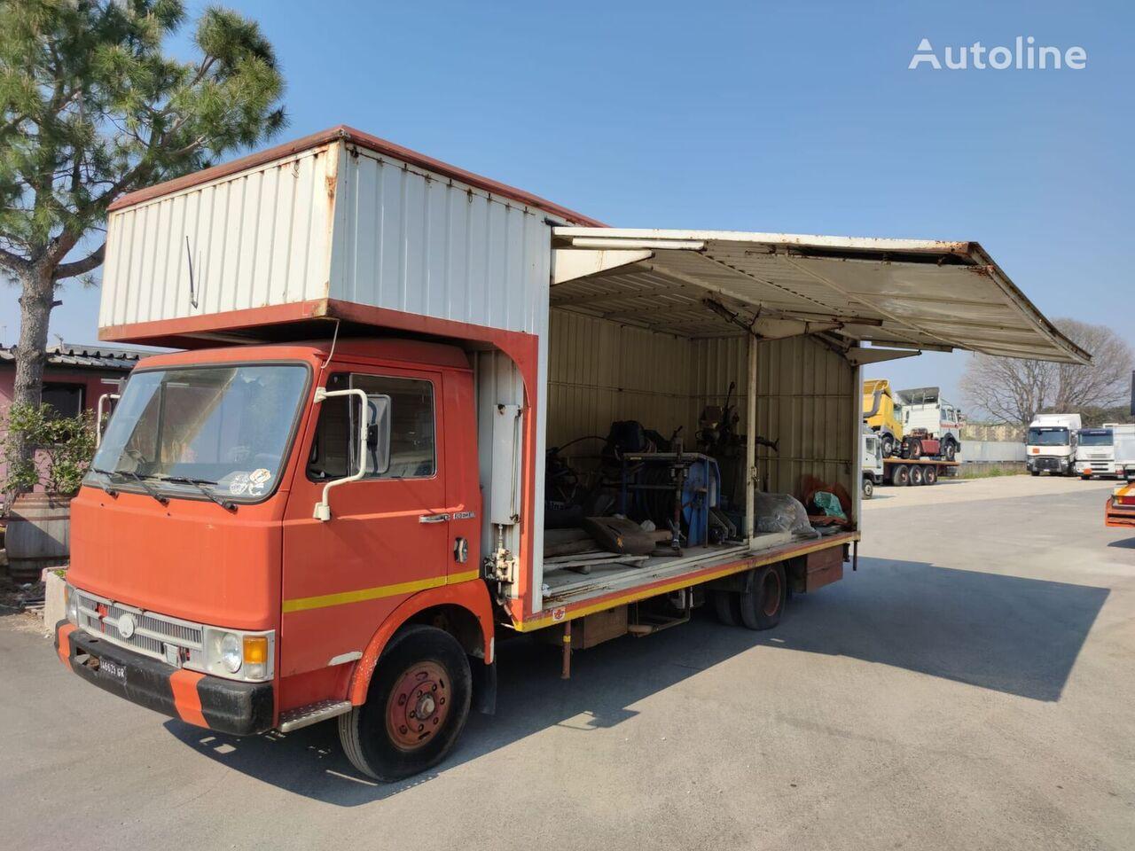 camion fourgon FIAT 70 OM 10