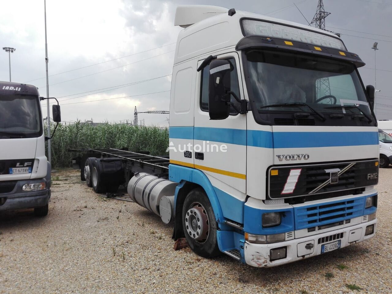 camion isotherme VOLVO FH 12 380