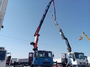 camion plateau IVECO Trakker