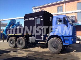 camion plateau KAMAZ 43118 с КМУ ИМ-150 neuf