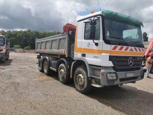 camion plateau MERCEDES-BENZ 3241 8x4 Bordmatic