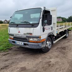 camion plateau MITSUBISHI Canter HD 3.9L Turbo + Intercooler 1999 7,5t GVW flatbed Aircond