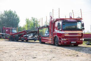 camion porte-voitures DAF Trailer FA CF75 + remorque porte-voitures