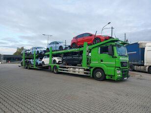 camion porte-voitures MAN TGS
