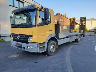 camion porte-voitures MERCEDES-BENZ Atego 1623 Járműszállító csörlővel és hidrorámpával