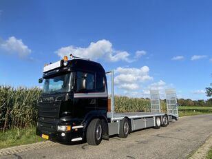 camion porte-voitures SCANIA R580   8x2*6   HYDRO-RAMPS   FULL AIR   LOW LOADER   LOW KM