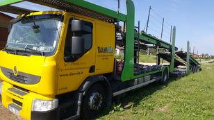 camion porte-voitures RENAULT Premium 370.18 Euro5 !!! + remorque porte-voitures