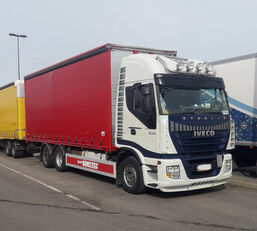camion rideaux coulissants IVECO Stralis AS260S500  6x2