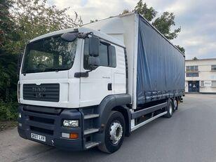 camion rideaux coulissants MAN TGA 26.320