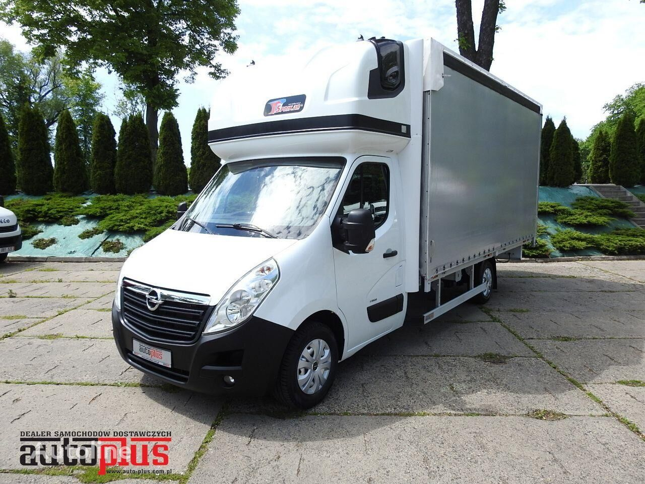 camion rideaux coulissants OPEL MOVANO
