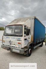 camion rideaux coulissants RENAULT Midliner M140.13 left hand drive 6 cylinder 13 ton full springs