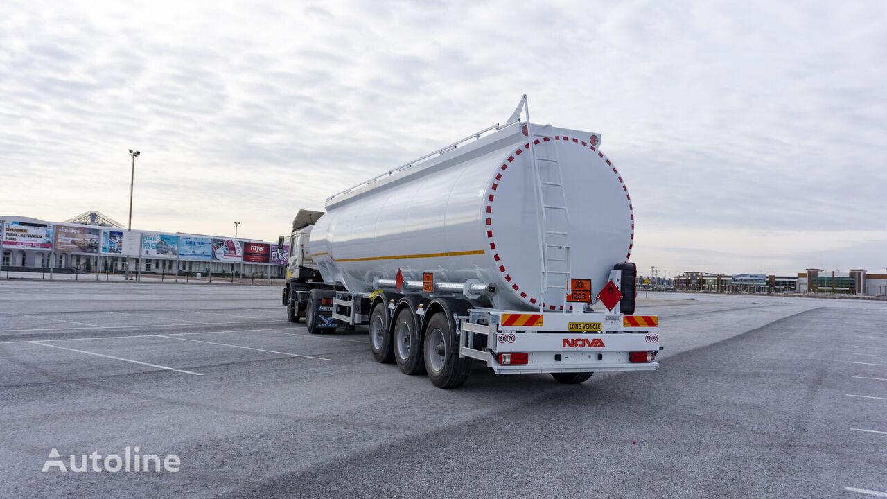 citerne de carburant NOVA Bottom loading Fuel Tanker Trailer 45.000 lt neuve