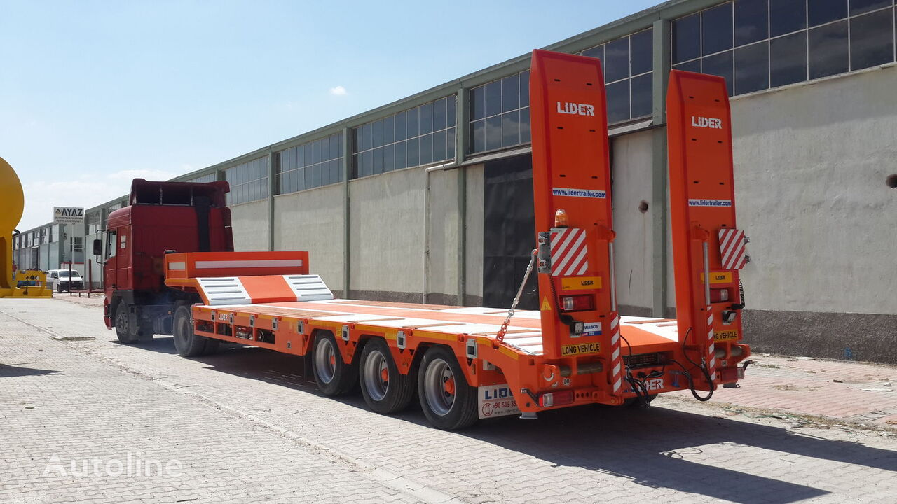 semi-remorque porte-engins LIDER 2021 READY IN STOCK 50 TONS CAPACITY LOWBED neuve