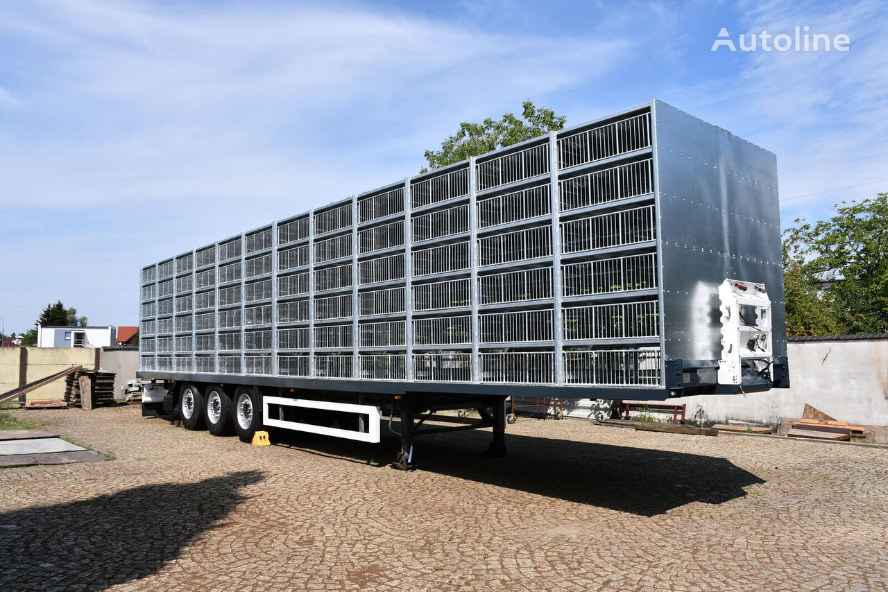 semi-remorque transport de volailles KRONE SDP27 Profi Liner neuve
